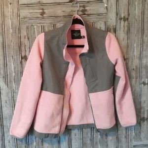 Pink & gray faded glory jacket
